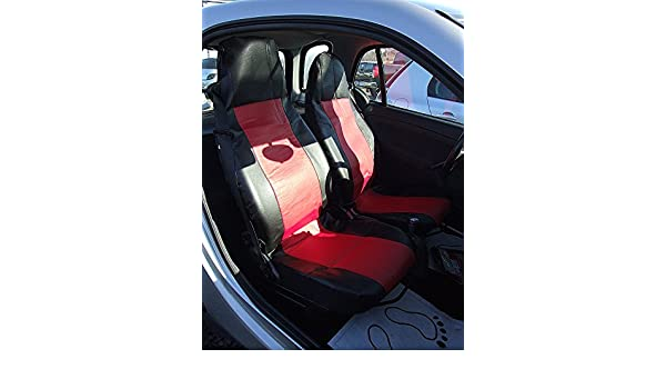 2x CAR FRONT SEAT COVERS PROTECTOR For Smart Fortwo Coupe