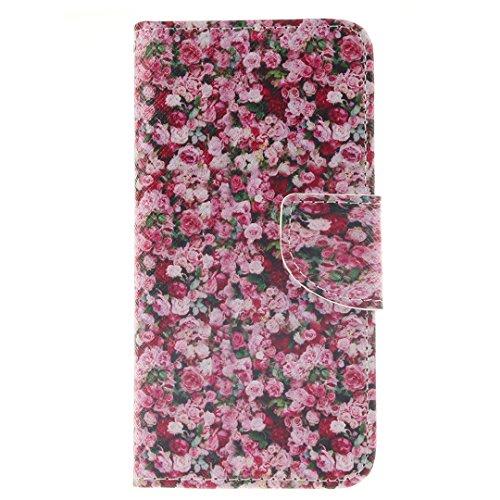 iPhone 6 Plus / 6S Plus Hülle im Bookstyle, Xf-fly® PU Leder Flip Wallet Case Cover Schutzhülle für Apple iPhone 6 Plus/ 6S Plus(5.5 Zoll) Tasche Handytasche Schutz Etui Schale Handyhülle P-12