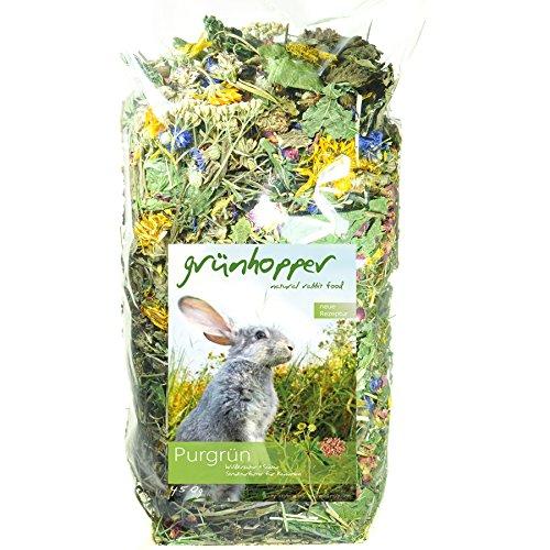 Grünhopper Kaninchenfutter Purgrün