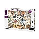 Nathan–Puzzle Erinnerungen von Mickey 500Teile, 87217