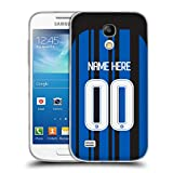 Head Case Designs Personalizzata Personale Inter Milan Home 2017/18 Cover Morbida In Gel Per Samsung Galaxy S4 mini I9190