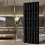 ZBB The protection of the environment more thick white shower curtain cut waterproof polyester 80() shower curtains Width x180cm()(300 height width x200cm height() not wrinkled (size: 100 * 180 cm)