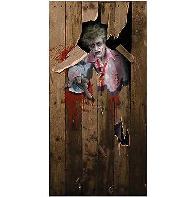 Halloween Door Poster 6ft X 3ft (Halloween) - Unisex - 6ft X 3ft