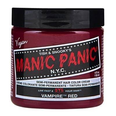Manic Panic Vampire Red Semi Permanent Vegan Hair Dye.