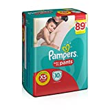 #10: Pampers Pants Extra Small Size Diapers for New Born (10 Count)