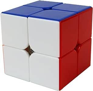 Cube R/églable Smooth Classique Puzzle Brain Teaser Jouets SsHhUu 2x2x2 Color/é Speed Cube Magique Jouets