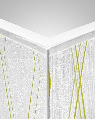 tapeteneckleiste au enwinkel wei l nge 260cm. Black Bedroom Furniture Sets. Home Design Ideas