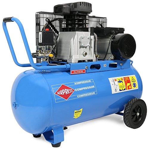 Kompressor 3 PS / 90 l / 8 bar Typ HL340/90 36844-E
