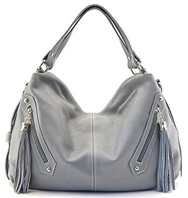 OH MY BAG Sac porté épaule Cuir porté épaule main bandoulière et de travers femmes en véritable cuir fabriqué en Italie - modèle ARIZONA