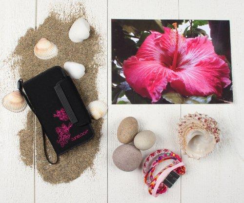 Zunblock iPhone Tasche - Funda para dispositivo electrónico, color negro, talla 5/5s