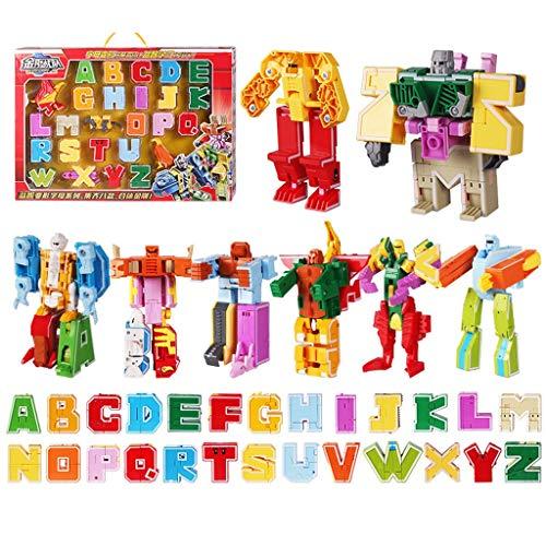 Heroes Rescue Bots Spielzeug , Verformungsroboter-Modell De Digitales Verformungsspielzeug, Verformungsroboter 6-12 Jahre Junge Puzzle Alphabet Tier Dinosaurier Montiert - Kinder Roboter Spielzeug, We -
