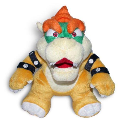 Nintendo - Peluche di Bowser di Super Mario, 25 cm