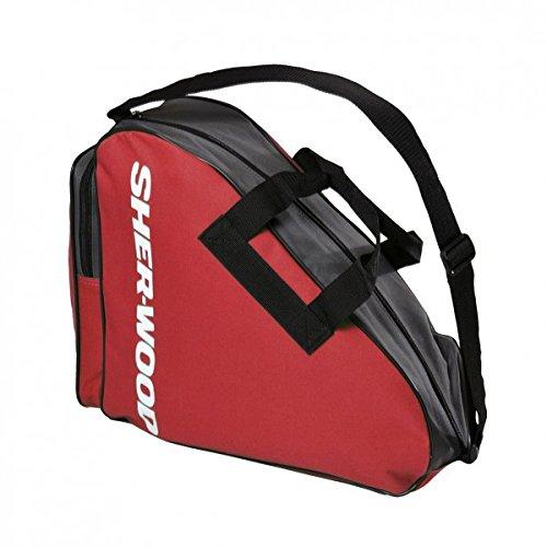 Sherwood Schlittschuhtasche Skate Bag, Rot, 36 x 16 x 36 cm, 80083