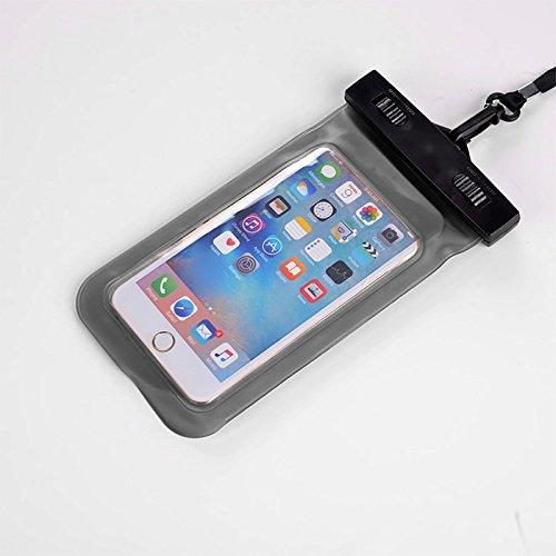 ASOSMOS Wasserdichte Hülle Tasche IPX*8 15m für iPhone Samsung Handy (Plus Kanu Paddel)