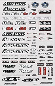 AE rc10b4.2Decal Sheet