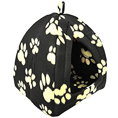 IGLOO - Portable Foldable Travel Pet Bed - Brown / Cream from WATSONS