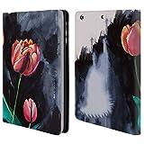 Head Case Designs Offizielle Mai Autumn Tulpen Bluete Blumig Brieftasche Handyhülle aus Leder für iPad Mini 1 / Mini 2 / Mini 3