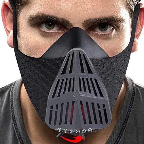 AILOVA Máscara De Entrenamiento Impermeable Máscara