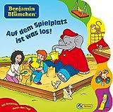 Benjamin Blümchen - Auf dem Spielplatz ist was los!: Nelson Pappbilderbuch mit Register - Vincent Andreas