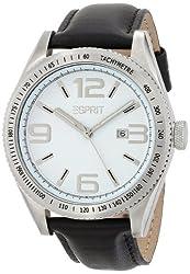Esprit Verdugo Black Analog White Dial Mens Watch ES104121002