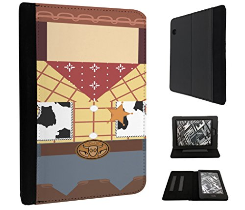 269 - Cartoon Woody Outfit Design Amazon Kindle Voyage 6