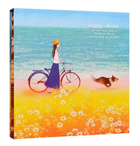 Fotoalbum - 660 Pocket Schöne Mädchen mit einem Bike-Muster