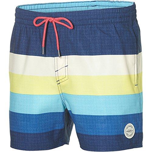 O'Neill Herren Mid vert Horizon Shorts Bademode Badeshorts Blue AOP L