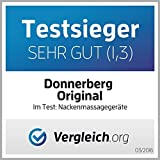 Donnerberg NM089 – Nacken und Schulter Shiatsu Massagegerät mit Infrarotwärmefunktion - 7