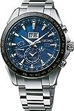 Seiko Herren Analog Solar Uhr mit Edelstahl Armband SSE147J1