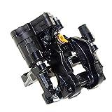 ATE original Bremssattel hinten rechts 310mm x 22mm mit Träger, Belägen und Stellmotor