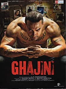Ghajini (2008) - Aamir Khan - Asin - Bollywood - Indian Cinema - Hindi Film