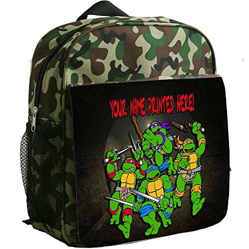 personalised-teenage-turtles-st751-camouflage-childrens-backpack-kids-rucksack-childs-toddler-boys-n