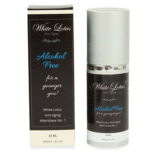White Lotus Anti Aging – Aftershave Hipoalergénico