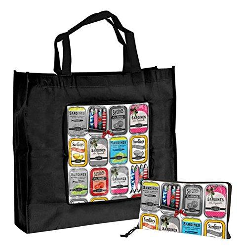 orval-creations-sac-cabas-pliable-de-courses-shopping-vintage-les-sardines
