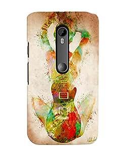 Citydreamz Guitar/Music/Instruments/Girl Hard Polycarbonate Designer Back Case Cover For Motorola Moto G Dual SIM (Gen 3), Motorola Moto G3 Dual SIM