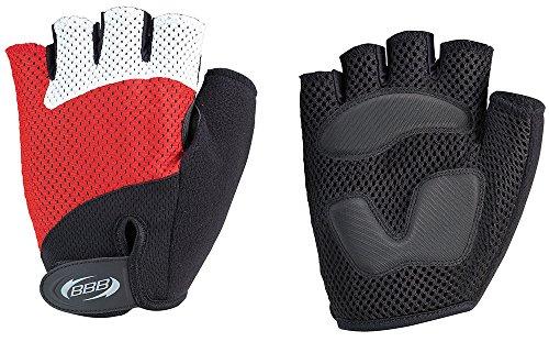 Bbb cooldown–guanti da ciclismo per uomo, colore: rosso, unisex adulto, 2905893635, rosso, xl