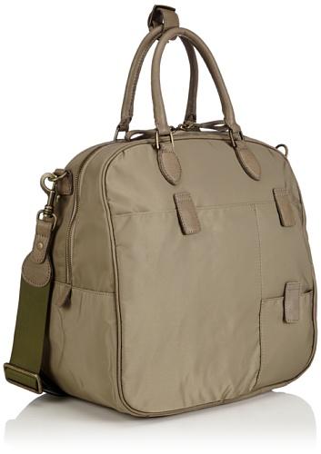Liebeskind Berlin  Boarding Bag, sac à main femme Vert - Green - Grün (dark khaki)