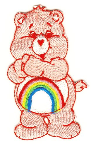 Image of Care Bear Sew-On Badge / Iron-On Patch 4 x 7 cm