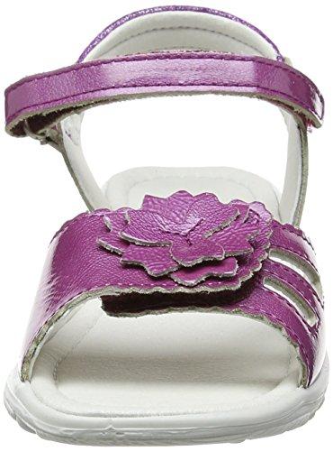 Ricosta Gundi, Sandales  Bout ouvert fille Pink (Fruit 342)