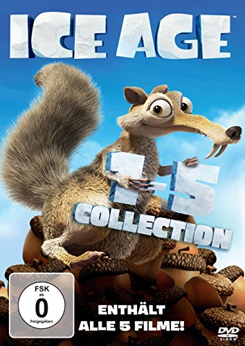 Ice Age 1-5 [5 DVDs]