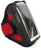 Sportarmband Jogging Schutzhülle passend für Sony Xperia XA Fitness Laufen Joggen Handytasche - Dealbude24 - Arrow M Rot