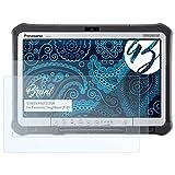 Bruni Schutzfolie für Panasonic ToughBook CF-D1 Folie, glasklare Bildschirmschutzfolie (2X)