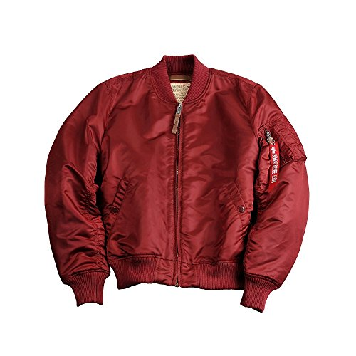 Alpha Industries Ma-1 VF 59 Jacket Bomberjacke 191118 Burgundy