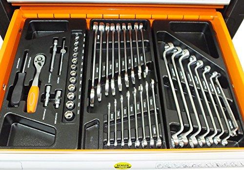 Werkstattwagen gefüllt mit Werkzeug! Werkzeugschrank Werkzeugwagen Werkzeugkiste - 2
