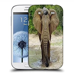 Snoogg Elephant Designer Protective Back Case Cover For SAMSUNG GALAXY GRAND DUOS I9082