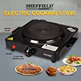 Sheffield Classic Electric Cooking Stove Hot Plate Cook-Top 1500 Watts SH-2001-1 - Black