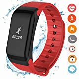 CanMixs Fitness Tracker, CF01 Activity Tracker Smart Braceler con...