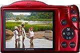 Canon PowerShot SX410 IS Digital Kamera (7,6 cm (3,0 Zoll) Display, 20 Megapixel, 40-fach opt. Zoom, HDMI Mini, USB 2.0) rot - 6