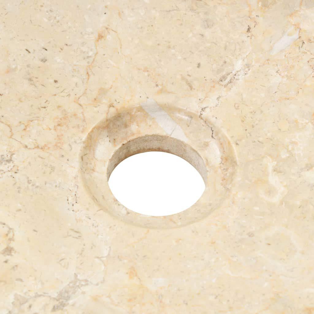 Color de Blanco Material de Cer/ámica Festnight Lavabo Redondo 40x15 cm