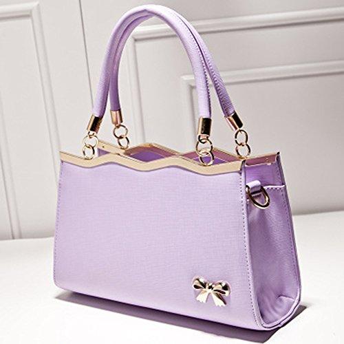 SHUhua - Borsa a tracolla donna purple